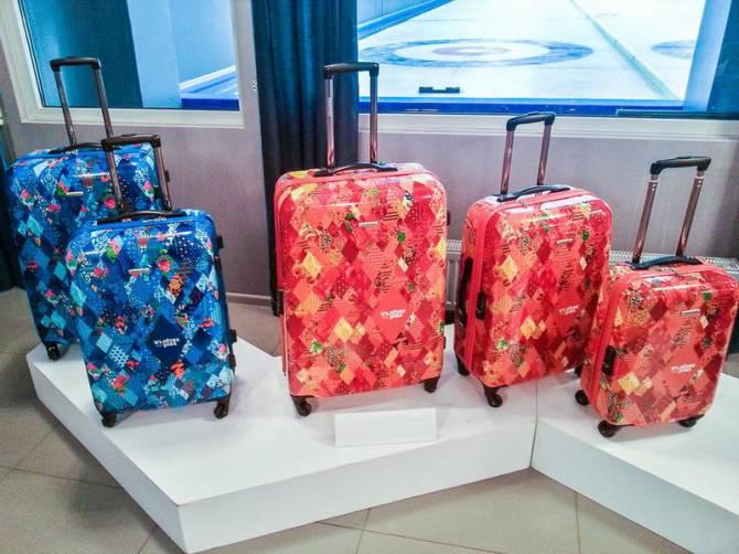 чемоданы на колесах для женщин