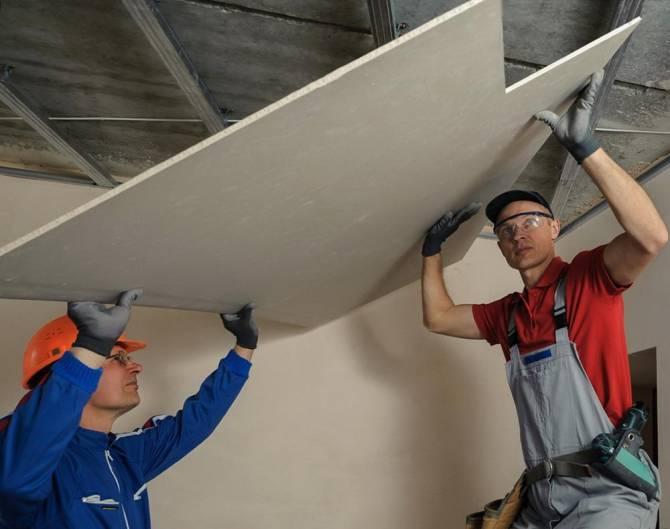 гипсокартон - один из наиболее популярных материалов при ремонте