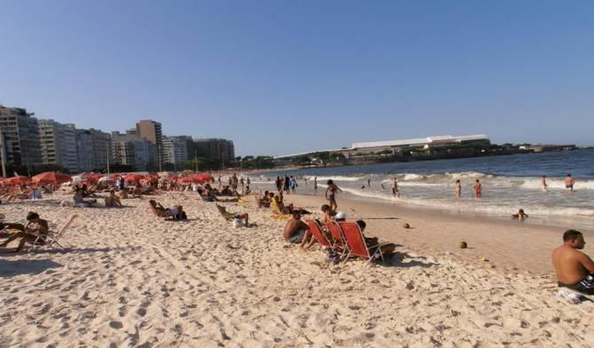 веб камера на пляже в Рио-Игуасу