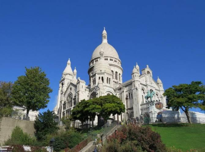 Собор Сакре-Кер або церква Святого Серця у Парижі