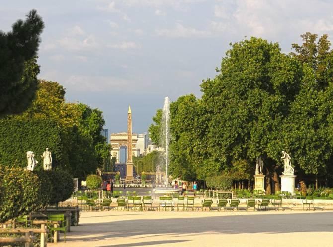 Париж. Сад Тюільрі