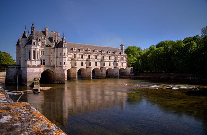 Франция. Замок Шенонсо.