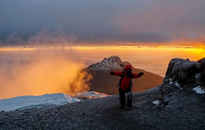 Танзания. Вершина Килиманджаро