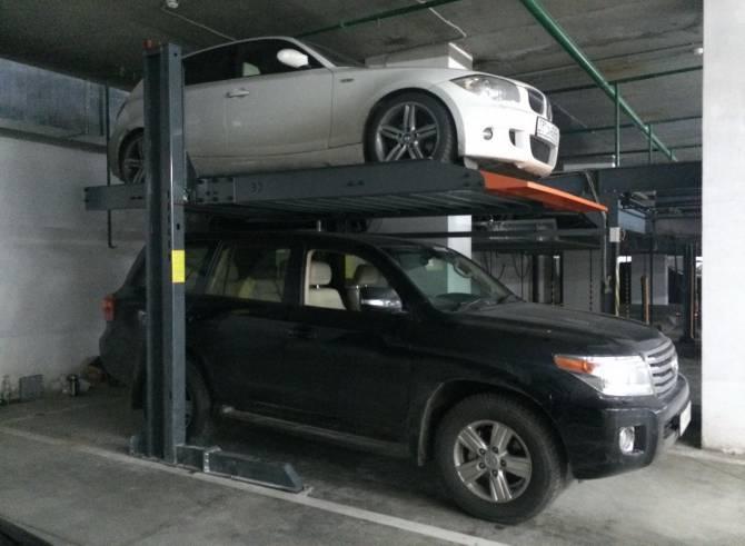 использование автомобильного лифта-подъемника