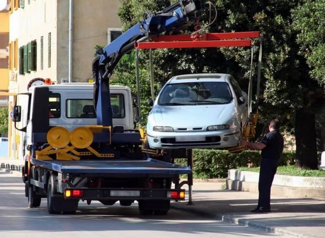 использование автомобильного эвакуатора