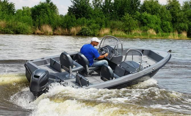 катер для пресноводной рыбалки