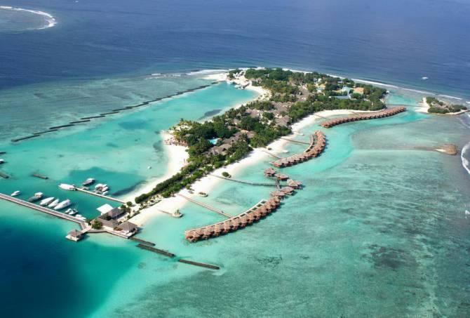 Райские места Мальдивских островов