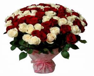 букет з троянд