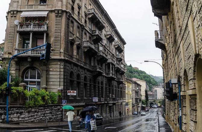 Риека. Центральные улицы