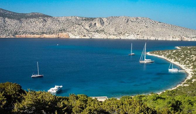 острів Алім'я, Греція