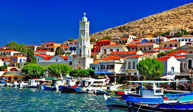 острів Халкі, Греція
