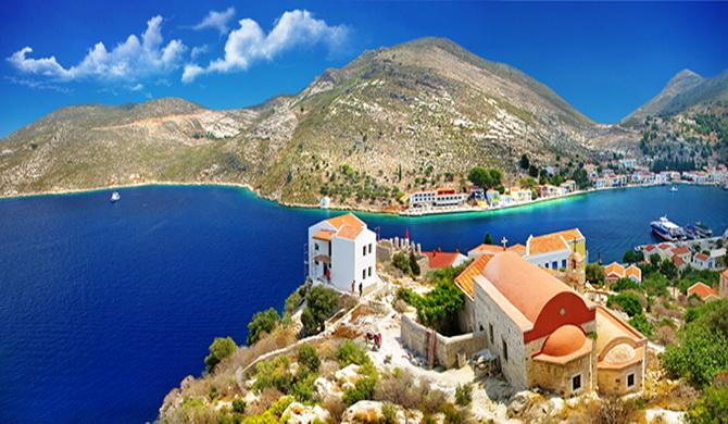 острів Кастелорізо, Греція
