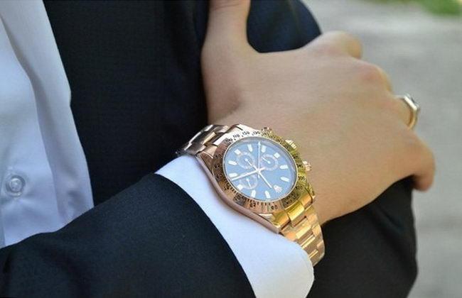 хорошие наручные часы - показатель статуса