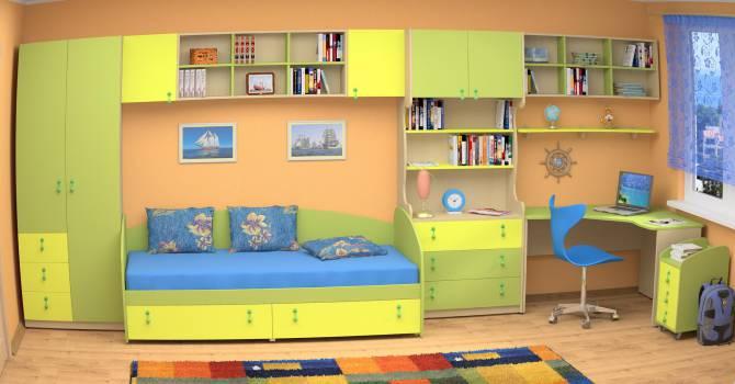 Детская мебель в магазинах Украины