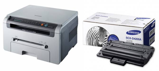 принтер Samsung SCX-4200 та картридж до нього