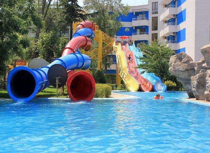 Аквапарк в готелі *Кубань*