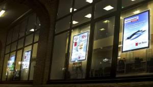 Тонкие световые панели – шаг к ненавязчивой рекламе