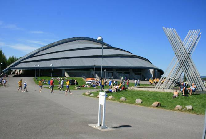 Хамар. Спортивный комплекс