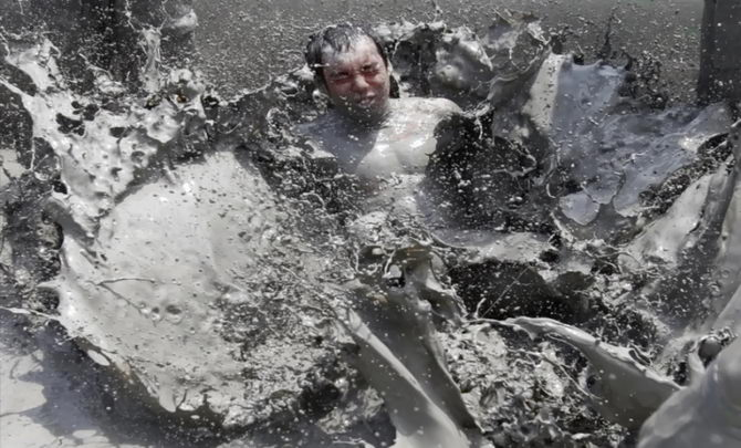 грязьові джерела в Порені