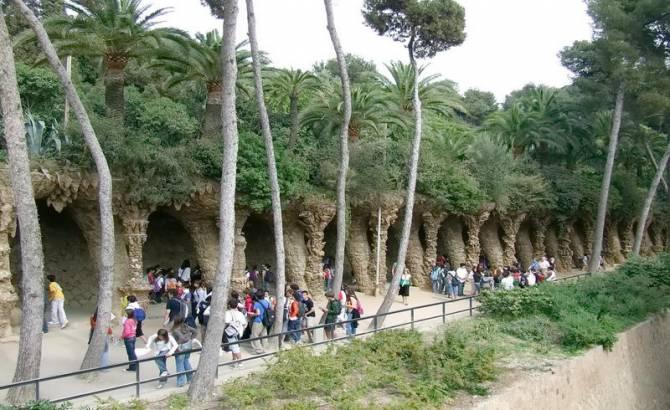Парк «Гуэль» в Барселоне
