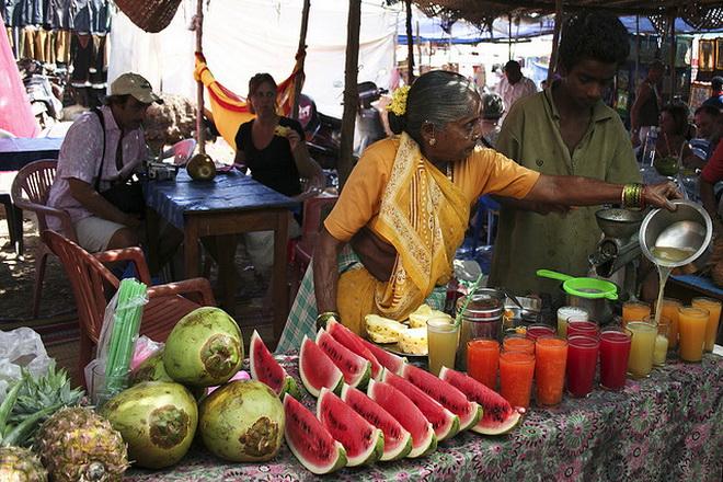 ринок фруктів і напоїв ГОА