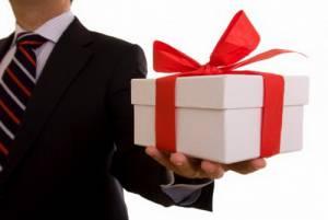 Етикет ділових подарунків
