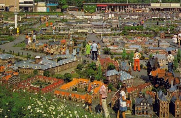 парк мініатюр Мадюродам в Гаазі