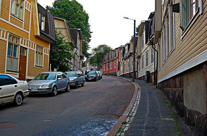 дорога в Хельсінкі