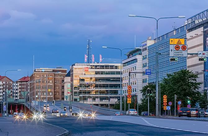 парковки в Хельсінкі