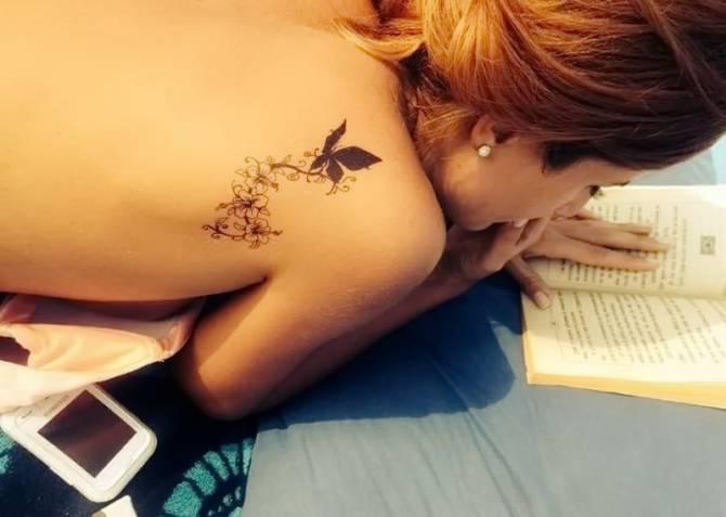 татуювання в тату-салоні