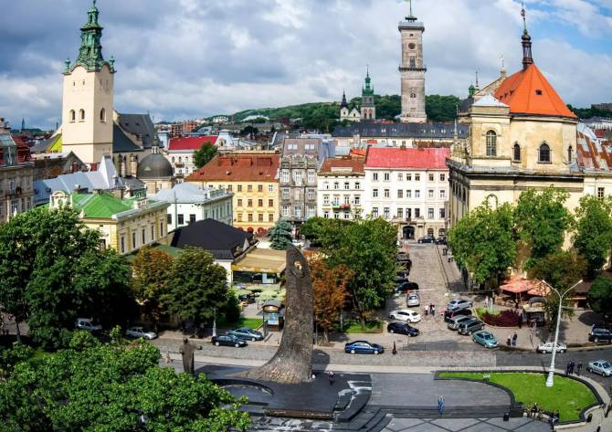 центральная часть Львова