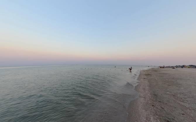Кирилловка. Песчаный пляж