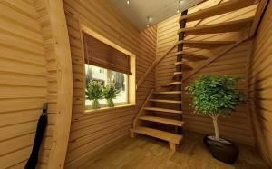 Косоуры как изюминка дизайна дома