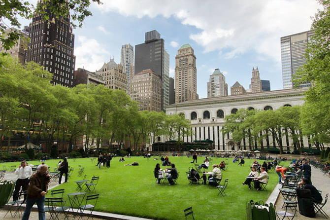 Нью-Йорк: Брайант Парк