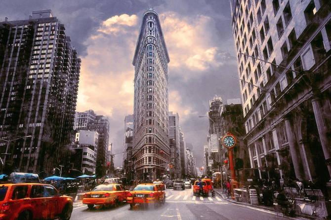 Нью-Йорк: Флейтірон білдінг