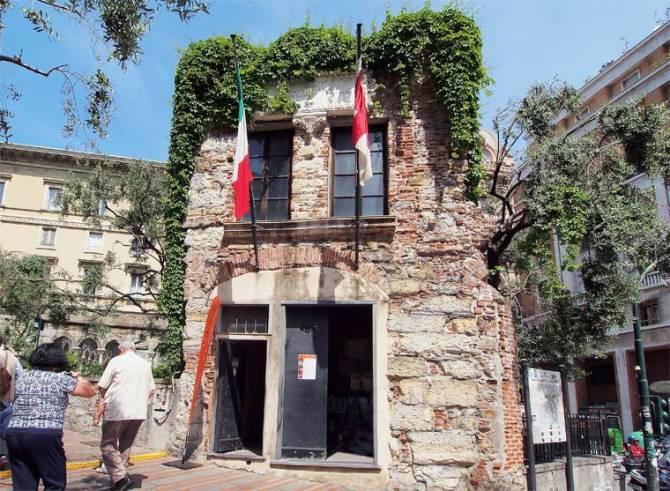 Фото: будинок Колумба, Генуя