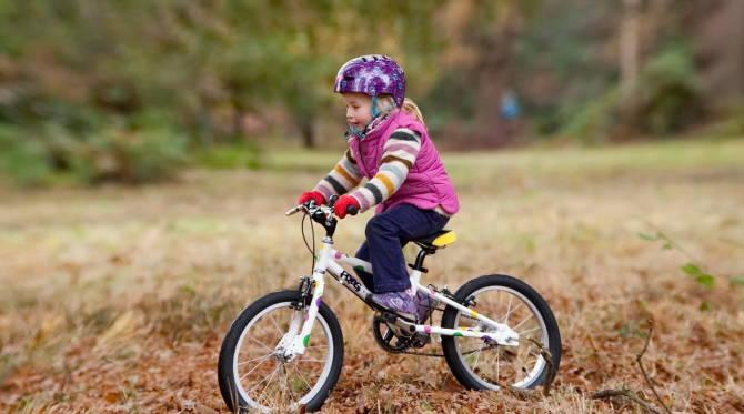 удобный детский велосипед - радость всей семье