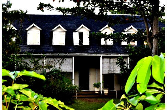 Загублений на острові старий будинок плантатора