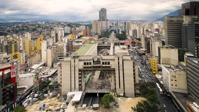 столиця Венесуели Каракас - небезпечне місто