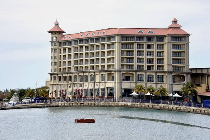 готель на острові Маврикій