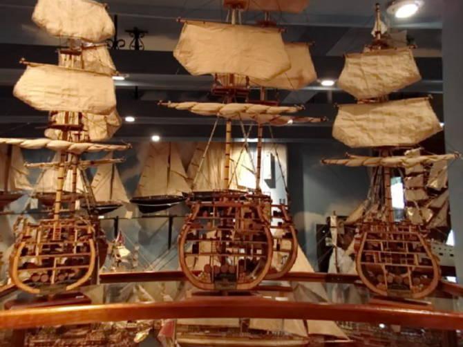 макети кораблів