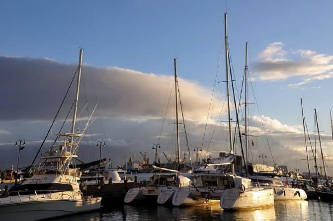яхт стоянка на Маврикій