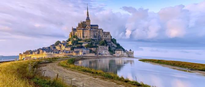 Франція. Абатство Мон-Сен-Мішель