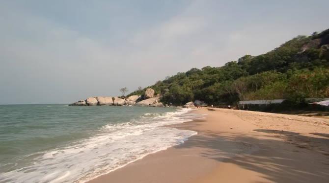 пляж таїландського курорту Хуахін