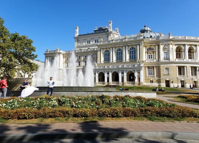 Одеса. Державний Академічний театр опери