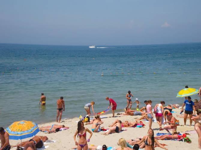 Одеса. пляж Аркадія