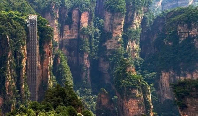 ліфт в провінції Хунань