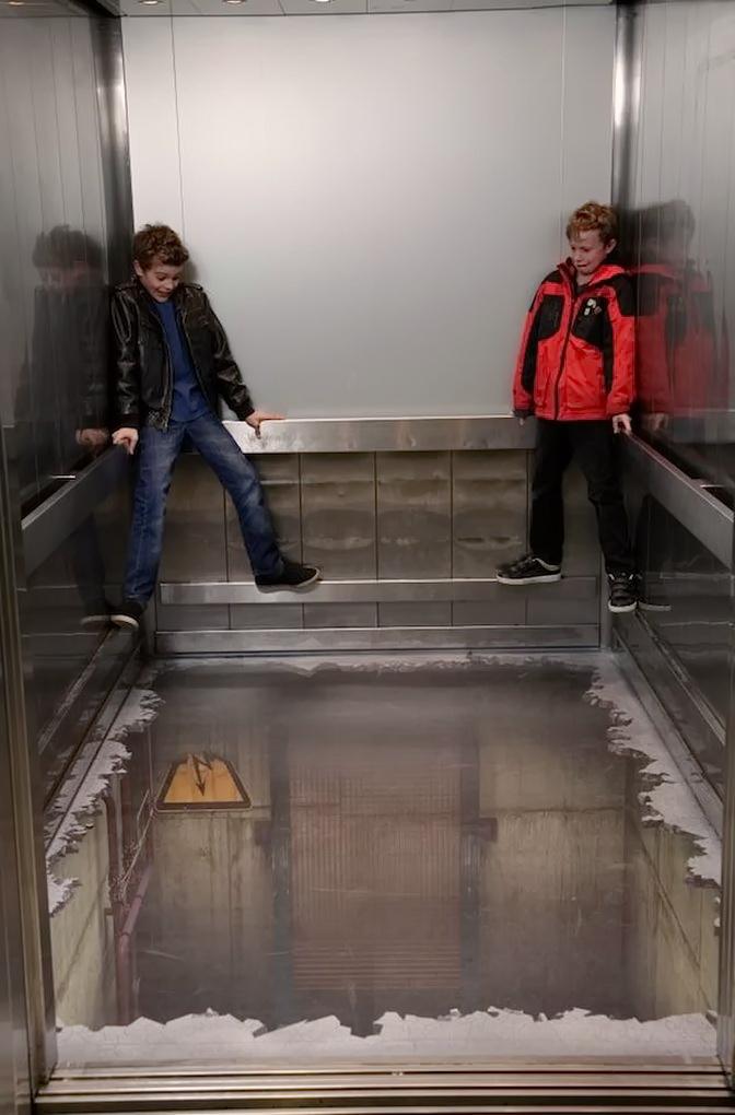 ліфт в торговому центрі Лондона