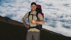 Блогер Макс Поляков и его друг Максим Криппа отправились на вулкан Фудзияма