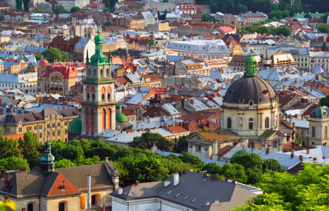красивые места Львова